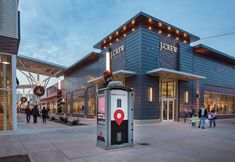 Nebraska Crossing Outlets | ka architecture