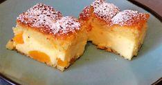 """""""Fordulj meg"""" túrós sütemény recept képpel. Hozzávalók és az elkészítés részletes leírása. A """"Fordulj meg"""" túrós sütemény elkészítési ideje: 75 perc Hungarian Recipes, Sweets Cake, Cake Cookies, Cornbread, Fondant, Panna Cotta, French Toast, Sandwiches, Cheesecake"""