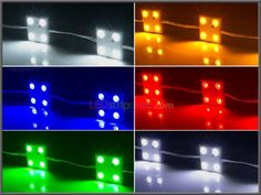 Single Color 2.4W Single LEDs 12V Super Bright High Efficiency SMD2835 Waterproof LED Group of Injection 4X Modules product picture-4.jpg (500×375)