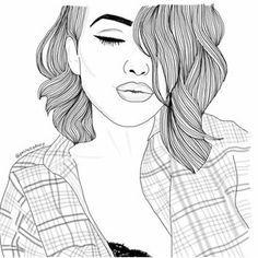 tumblr girls drawing - Google Search