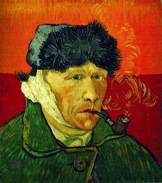 Vincent Van Gogh, Autorretrato con oreja vendada y pipa (1889) Un desfile de obras maestras | Fotogalería | Cultura | EL PAÍS