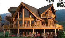 75 Best Log Cabin Homes Plans Design Ideas (55) Log Cabin Living, Log Cabin Homes, Log Cabins, Prefab Cabins, Mountain Cabins, Log Home Plans, House Plans, Barn Plans, Modern Wooden House