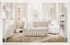 Love this nursery!  Rooms | Restoration Hardware Baby & Child