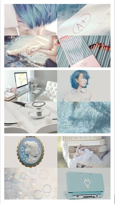 """☽ SAILOR MOON AESTHETICS ☾ - SAILOR MERCURY/MIZUNO AMI (水野 亜美)      """"My true dream…? Ah… Right… I have all these people I love and adore. I want to love them even more. To protect them. That's why I study. And my dream is to become a proud Scout and protect everyone…because that's my mission!"""""""