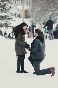 Elena & Antonio's Blue Mountain Proposal | Blue Mountain Village | Collingwood | Proposal Photography | Ski Resort | Portrait Photography | Romantic | Winter | Winter Wonderland | Christmas Proposal | New Years Proposal | Down On One Knee | #proposalphotography #downononeknee #heasked #shesaidyes