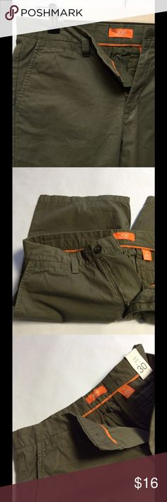 Bermuda Shorts by Joe Fresh Bermuda Shorts by Joe Fresh - green in color with zip and one button front - two button pocket back - 100% cotton - has extra replacement buttons - size 30 - NWT! Joe Fresh Shorts Bermudas
