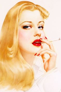 """ Illustration by Alberto Vargas, 1942 """