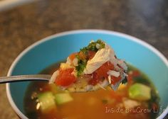 Inside BruCrew Life: Spicy rice and chicken soup