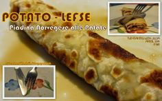 Sweet and That's it: Potato Lefse - Piadina Norvegese alle Patate Baking With Julia, Your Recipe, Potatoes, Cooking Recipes, Yummy Food, Fresh, Chicken, Mondays, Sweet