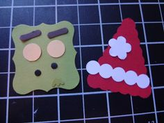 Beth's Paper Cuts: Pieces for the Grinch Candy Wrapper
