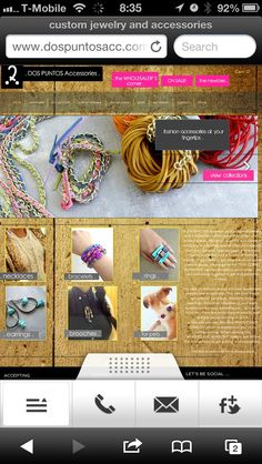 . introducing www.DOSPUNTOSACC.com mobile version! it's really easy to navigate . stop by and let me know what you think! #handmade #handmadejewelry #jewelry #joyas #hechoamano #neon #necklace #necklaces #collar #collares #bracelet #bracelets #pulseras #pulsera #brasalete #anillos #ring #joyeria #fashiontrends #leather #customjewelry #oneofakindjewelry
