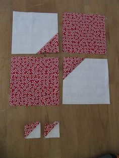 "Sew Many Ways...: Bow Tie Quilt Block Tutorial...A ""Charm"" ing Block"