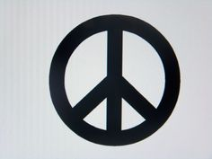 Wall Decal Peace Sign by momzetsy on Etsy Vinyl Decals, Wall Decals, Car Window Decals, Laptop Stickers, Truck, Peace, Sign, Windows, Cricut Ideas