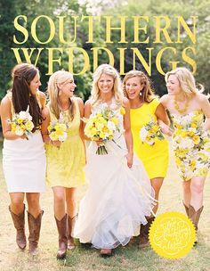 Southern weddings are all about the details. Get inspired by hundreds of photos of real southern weddings to craft your own signature style. Perfect Wedding, Dream Wedding, Wedding Day, Wedding Stuff, Trajes Country, Future Mrs, Youre My Person, Southern Weddings, Country Weddings