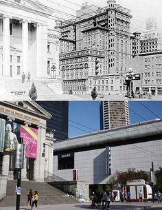 2nd Hotel Vancouver & Court House - 1914/2011