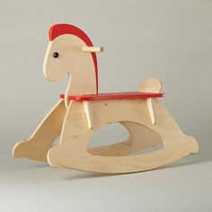 Hi-Ho Rocking Horse, Away! - contemporary - Kids Toys And Games - The Land of Nod