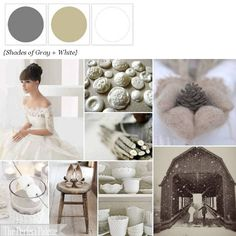 LOVE how versatile grey is, just like silver it goes with just about anything! The Perfect Palette