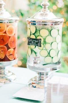 Cool cucumber water