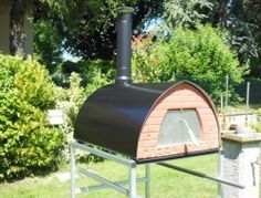Large wood fired oven Pizzone