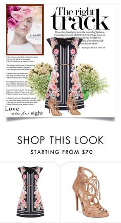 """""""Untitled #394"""" by kkotarac ❤ liked on Polyvore featuring M.A.C, Oasis, Jessica Simpson and Ethan Allen"""