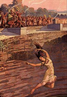 Sacrificio en cenote