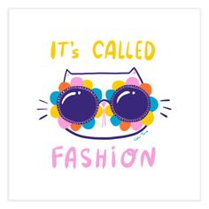 Who loves fashion and bright colors? Fashionista diva kitty, that's who. | Gabi Toma's Artist Shop Special Characters, Lower Case Letters, Fine Art Paper, Bright Colors, Diva, Funny Quotes, Fine Art Prints, Kitty, Fancy