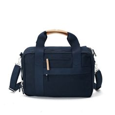 QWSTION Office Organic Navy. Available at Concrete Store Prinsestraat | WEBSHOP  #dipyourfeetintotheconcrete #concretestore #thehague #accessories #men #women #bags #QWSTION #Office #Organic #Navy
