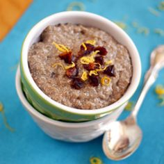 Figgy Chia Pudding HealthyAperture.com