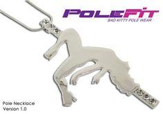 Pole Dancer Necklace   Pole Fit