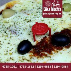 ¡Sabes que es una BUONA PIZZA cuando viene de Cosa Nostra! ¿qué esperas para pedirla?