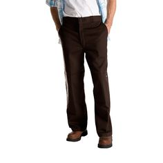 Check Out Our Awesome Product: Dickies 85283DB - Double Knee Work Pants - Dark Brown>>>>>>