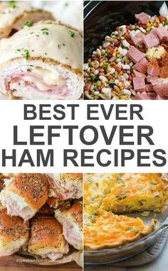 25 Easter Ham Recipes That Dont Taste Like Leftovers Easter Dinner Recipes ham recipes Leftover Ham Recipes, Leftovers Recipes, Leftover Turkey, Pork Recipes, Cooking Recipes, Free Recipes, Ham Dishes, Easter Ham, Easter Dinner Recipes