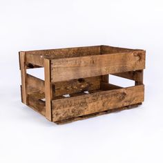 Die klassische Weinkiste in schickem Used Look. #crate