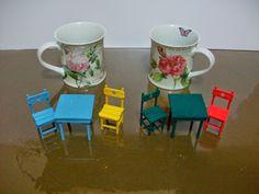 ! ♥ Küçük Şeyler - Minyatür, Hobi ♥ !: Masa & Sandalye