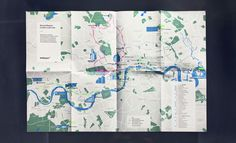 Our own bicycle map referencing Richard Rodgers works in London.