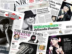 Leonard Cohen through the eyes of the world.