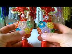 How to bead funny acceceroy: Hydrangea 3/3