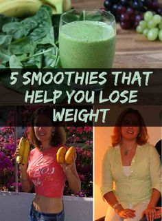 Green smoothies are some excellent drinks if you want to lose weight and stay young. Find out 5 Smoothies That Help You Lose Weight!