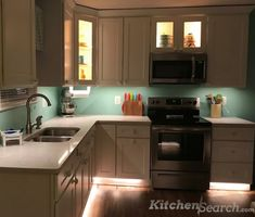 💡😲😄 Bring life into your kitchen, with lights!We love this creative project! What do you guys think?