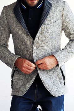gret images Quilted tailored jacket. nice one