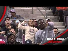 I just fell in love with this dance off between kid and usher▶ Detroit Pistons | Dance Cam: Nov. 19, 2013 - YouTube