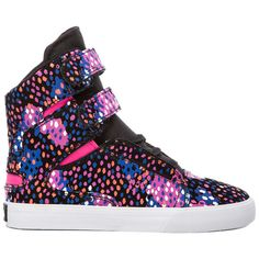 Supra Society Sneaker (120 AUD) ❤ liked on Polyvore featuring shoes, sneakers, supra, schuhe, supra footwear, velcro shoes, rubber sole shoes, suede leather shoes and lacing sneakers