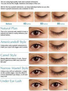eyelash extension style - Pesquisa Google
