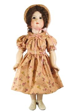 "24"" Victorian Rose Doll Dress"