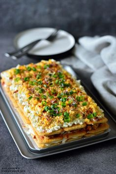 Snack Recipes, Cooking Recipes, Healthy Recipes, Snacks, Delicious Recipes, Cake Sandwich, Polish Recipes, Slow Food, Appetisers