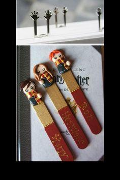 Sculpey bookmarks?