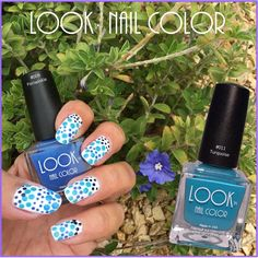 Shake up your #mani this week with some #nailart and a bright new #LOOK! #dots #notd #lookpassiton