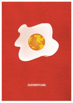 Global warming poster on Behance
