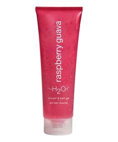 Raspberry Guava Shower/Bath Gel by H2O Plus #zulily #zulilyfinds