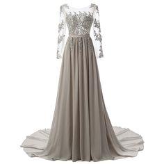 Real Photo Uzun Kollu Örgün Akşam elbise Gri Zarif Uzun Balo Abiye 2016 - http://www.geceelbisesi.com/products/real-photo-uzun-kollu-orgun-aksam-elbise-gri-zarif-uzun-balo-abiye-2016/